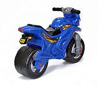 Беговел-Мотоцикл двухколесный с сигналом Bike Y6 Blue - 149740