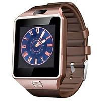 UWatch Умные часы Smart DZ09 Gold Edition, фото 1