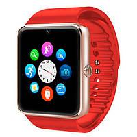 UWatch Умные часы Smart GT08 Red, фото 1