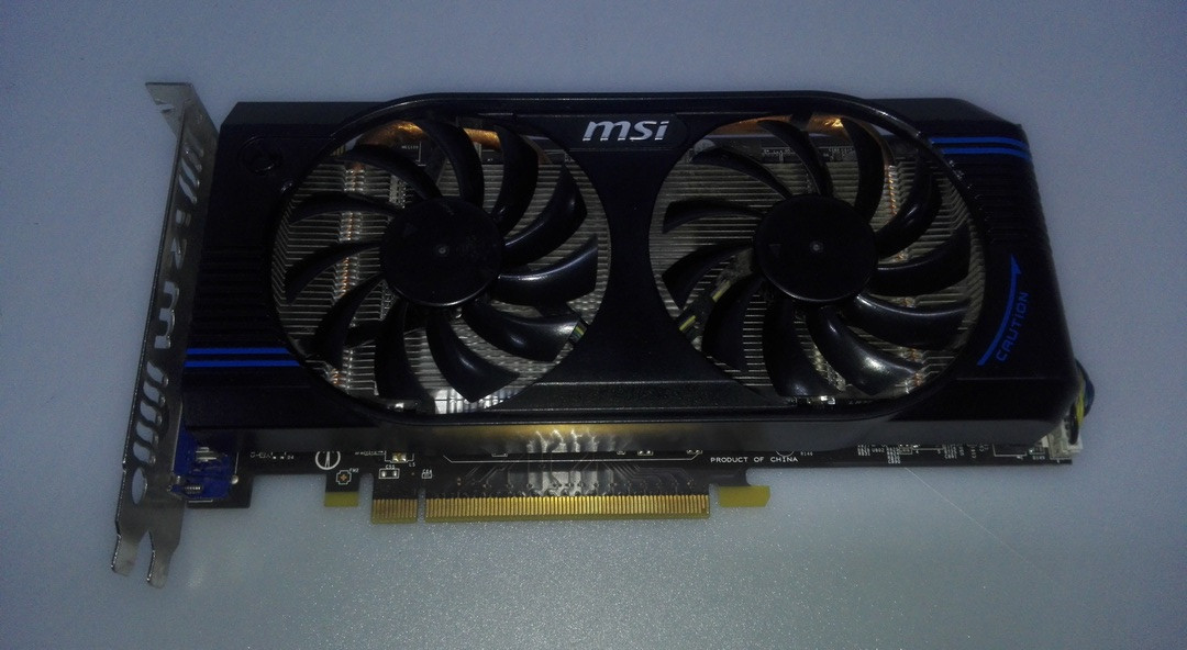 Видеокарта MSI GTX 560 1GB GDDR5 (256bit) (2 x DVI, mini HDMI)