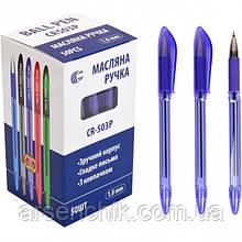 Ручка масляная СR503 Р «С» фиолетовая