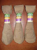 Капроновые женские носки. Без тормозов. Тон № 9. Беж темный