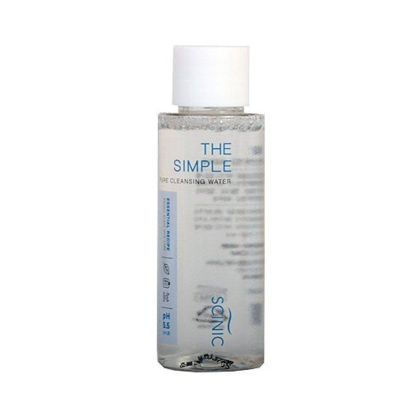 Слабокислотная мицеллярная вода Scinic The Simple Pure Cleansing Water Sample
