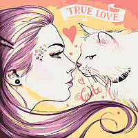 Набор для рисования True love (KHO2680) 40 х 40 см [Без коробки]