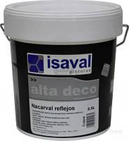 Декоративний лак з блискітками ISAVAL Nacarval Кобре (блискітки мідні та золоті) 2.5 л