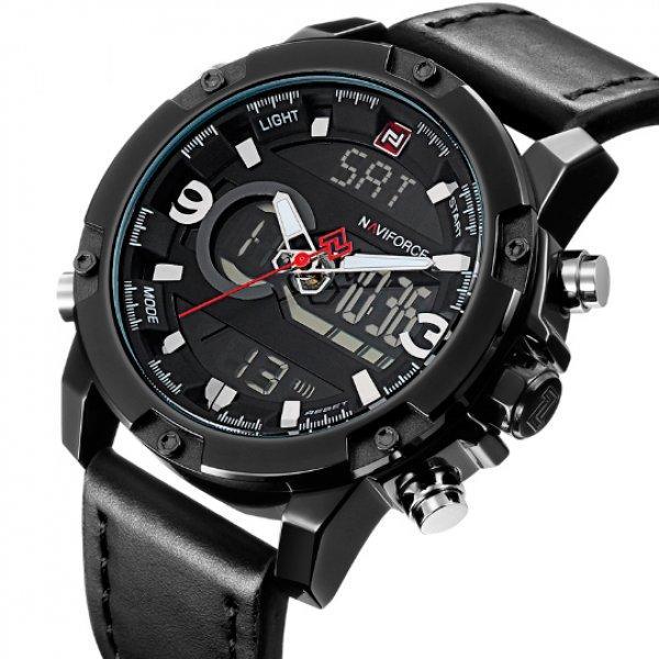 Naviforce Мужские часы Naviforce Kosmos Black NF9097