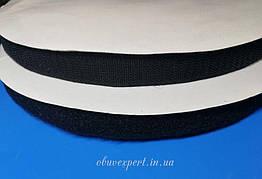 Лента контактная (липучка), 16 мм, цв. Черный