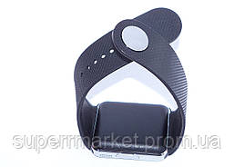 Смарт часы - телефон SMART WATCH GT08 GSM  в стиле Apple Watch  черные, фото 2