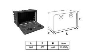 Ящик инструментальный 800 мм Турция (8386), фото 2