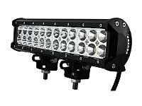 Дополнительные светодиодные противотуманные LED фары балки (1шт) D 72W дальнего света 300x100x65 LED-фары