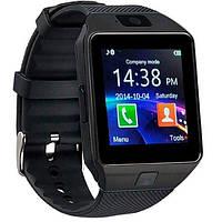 UWatch Умные часы Smart DZ09 Black, фото 1