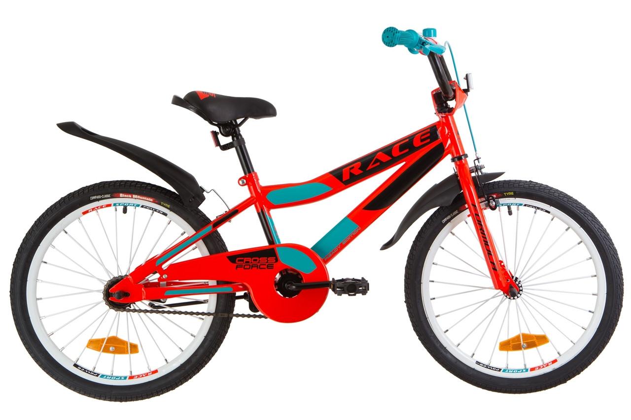 """Детский велосипед 20"""" Formula RACE 2019 (красно-бирюзовый)"""
