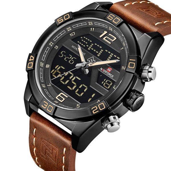 Naviforce Мужские часы Naviforce Legion Brown NF9128