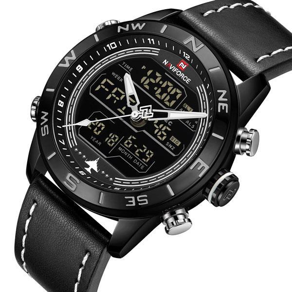 Naviforce Мужские часы Naviforce Strike Black, фото 1