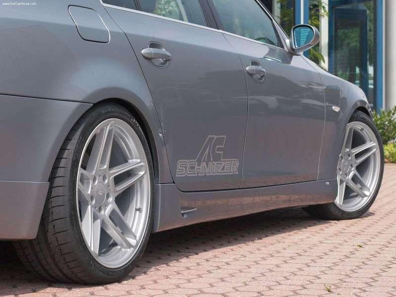 Накладки на пороги тюнинг обвес BMW E60 стиль AC Schnitzer