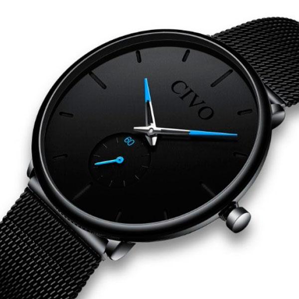 Civo Мужские часы Civo Tower Black