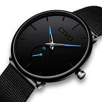 Civo Мужские часы Civo Tower Black, фото 1