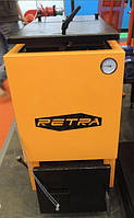 Котел Холмова Ретра 10 кВт шахтный длительного горения / котел Retra 6-м / твердотопливный котел Retra 6-м