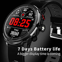 UWatch Умные часы Smart Proton Turbo Black, фото 1