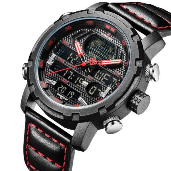 Naviforce Мужские часы Naviforce World NF9160 Black