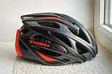 Велосипедный шлем Moon красный матовый, фото 2