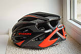 Велосипедный шлем Moon красный матовый, фото 4
