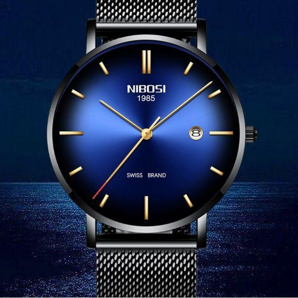 Hemsut Мужские часы Hemsut Nibosi Blue