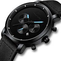 MegaLith Мужские часы MegaLith Vector Leather, фото 1