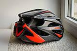Велосипедный шлем Moon красный матовый, фото 5