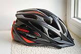 Велосипедный шлем Moon красный матовый, фото 6