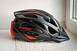 Велосипедный шлем Moon красный матовый, фото 7