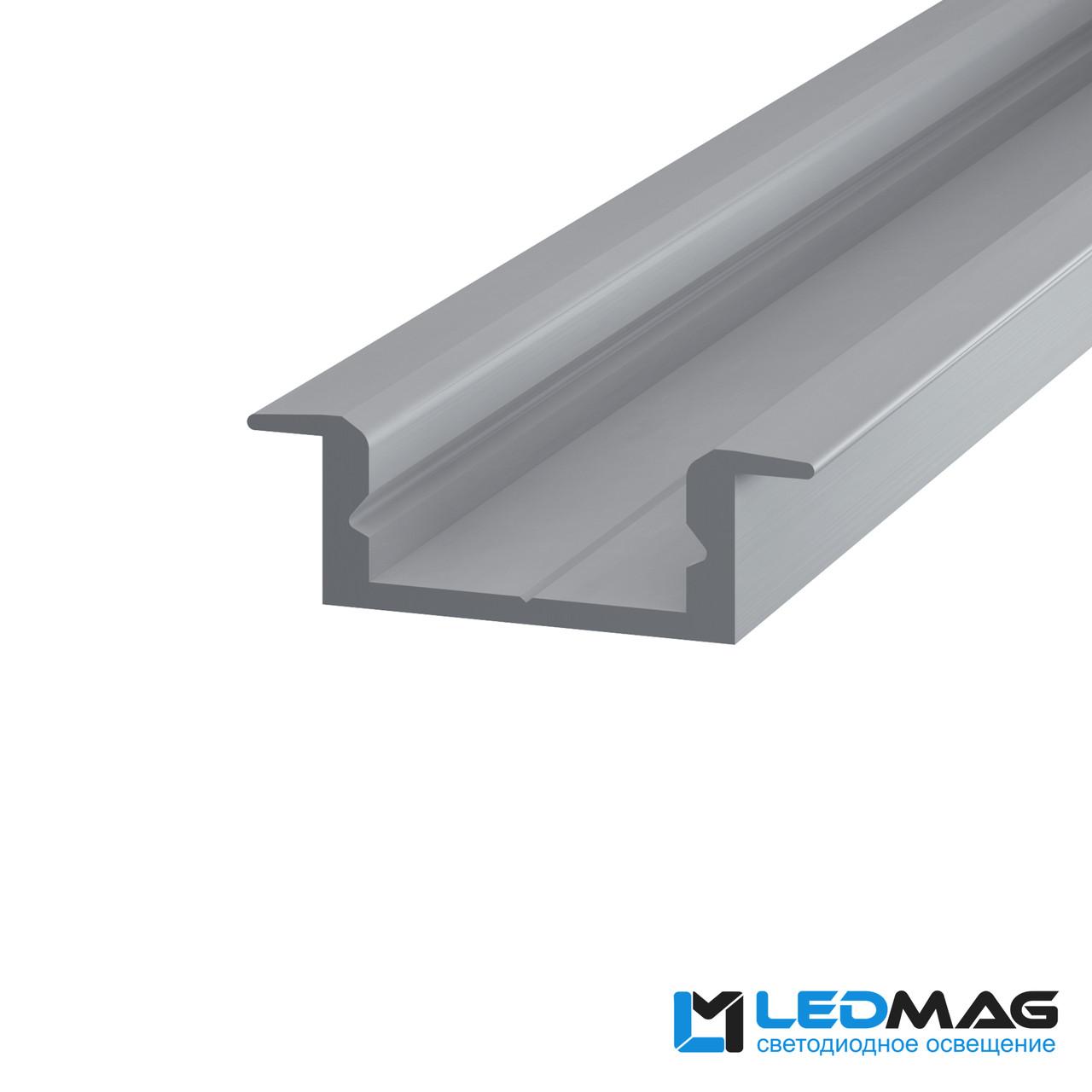 Профиль для светодиодной ленты врезной LPV-7