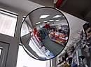 Зеркала сферические для ведения наблюдения в торговых залах, кассовых узлах, точках контроля и т.д.