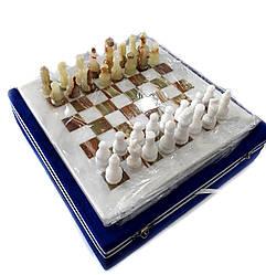 Шахматы из натурального оникса 25*25 смсм