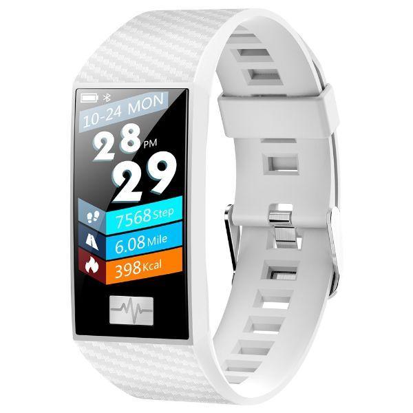 UWatch Умные часы Smart NeoBand White водостойкие