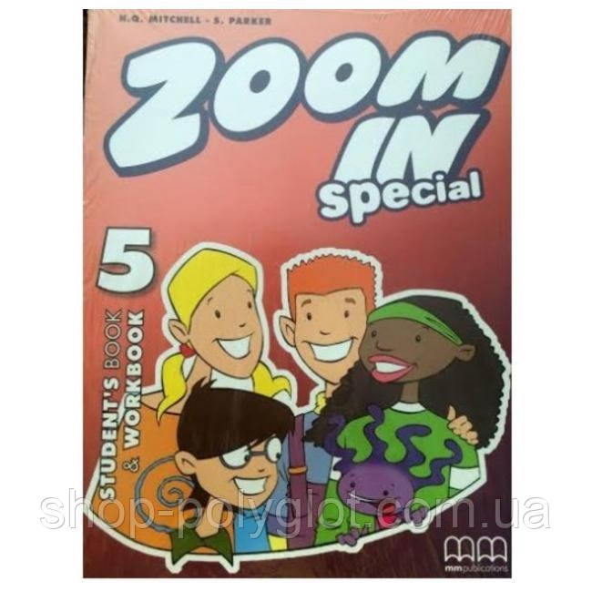 Zoom in 5 Student's Book and Workbook with CD-ROM