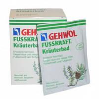 Трав'яна ванна для ніг GEHWOL FUSSKRAFT 200 г, 10 пакетиків