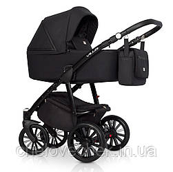 Детская коляска универсальная 2 в 1 Riko Villa 04 Carbon Рико Вилла, Польша)