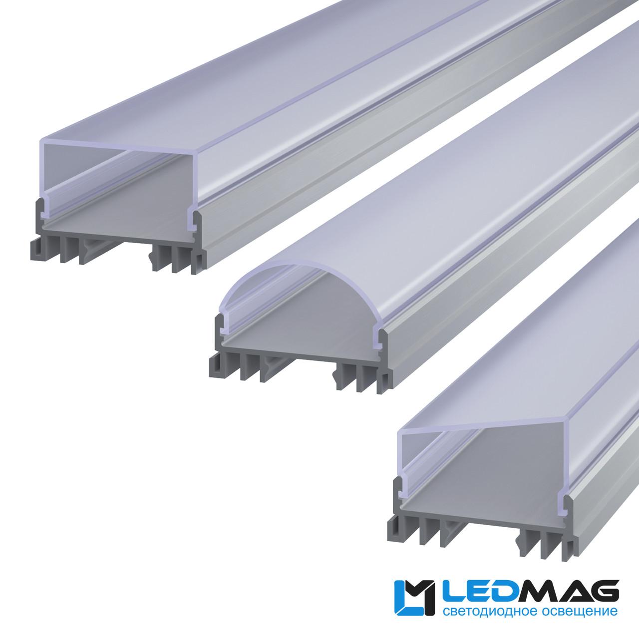 Профиль для светодиодной ленты накладной LSS
