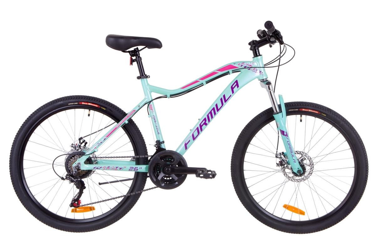 """Горный велосипед 26"""" Formula MYSTIQUE 1.0 DD 2019 (бирюзовый)"""
