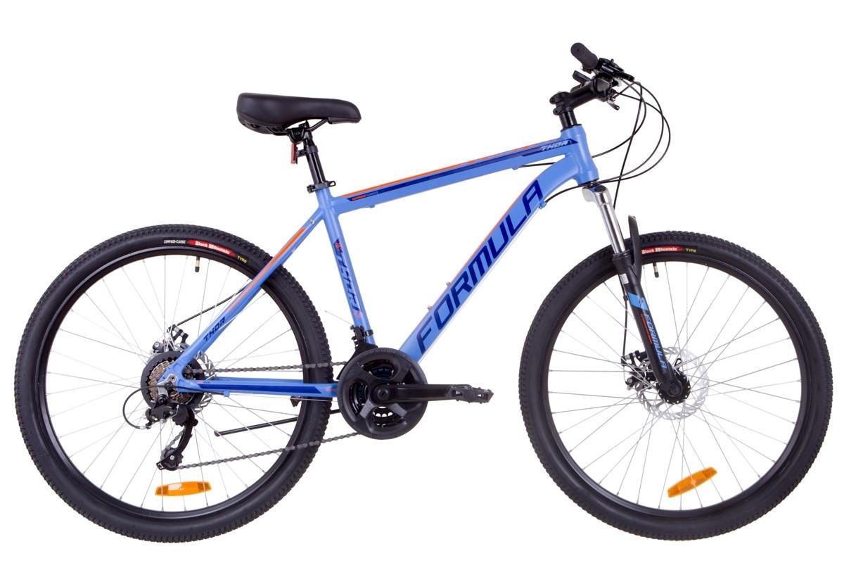"""Горный велосипед 26"""" Formula THOR 2.0 DD 2019 (синий (м))"""