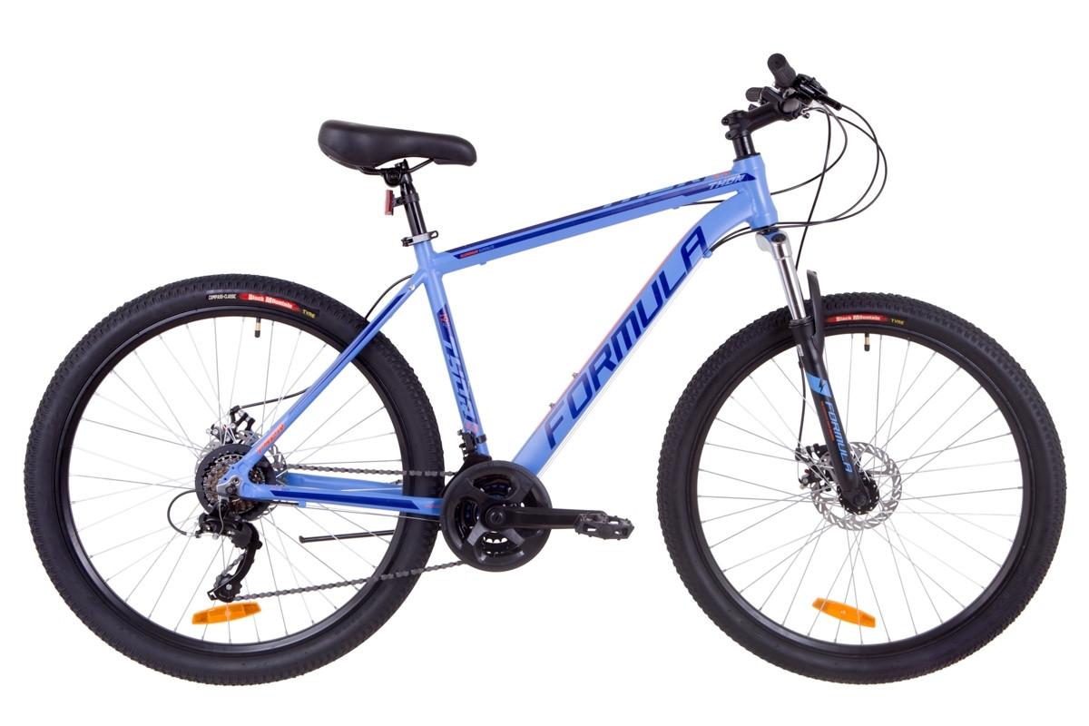 """Горный велосипед 27.5"""" Formula THOR 2.0 DD 2019 (синий (м))"""