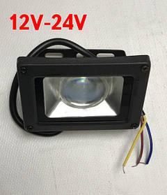 Светодиодный линзованый прожектор SL-IC10Lens 10W 12-24V DC 6000К IP65 Код.59564