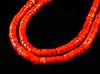 Заготовка  из  коралла оранжевого-розовый 7.7мм