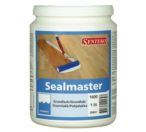 Грунтовочный лак для паркета Synteko Sealmaster 1л - (Полуглянцевый) (Синтеко Сиалмастер)