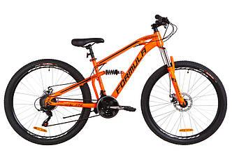 """Горный велосипед 27.5"""" Formula BLAZE DD 2019 (оранжевый )"""