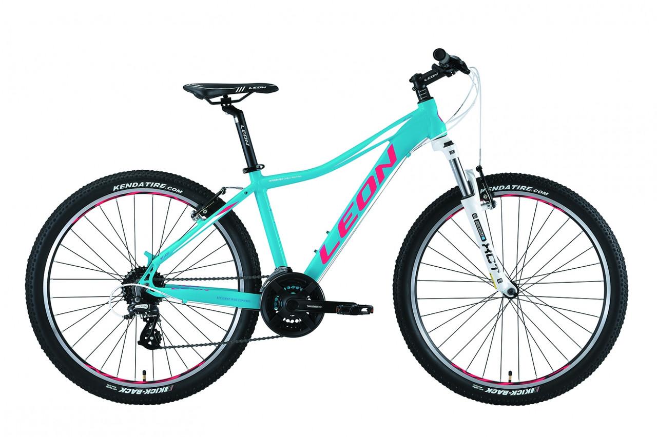 """Горный велосипед 26"""" Leon HT LADY 2019 (бирюзовый)"""