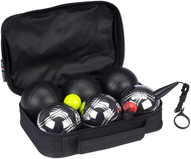 Набор для игры в Петанк Бочче Get & Go® 6 шаров DELUXE (MAT/CHROME) 52JT