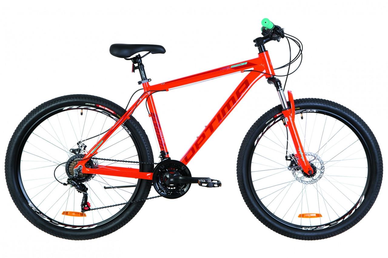 """Горный велосипед 27.5"""" Optimabikes MOTION DD 2019 (оранжевый )"""
