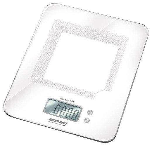 Весы кухонные MPM MWK-03 white